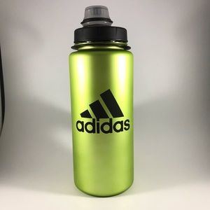 Adidas green sports water bottle 24oz 750ml